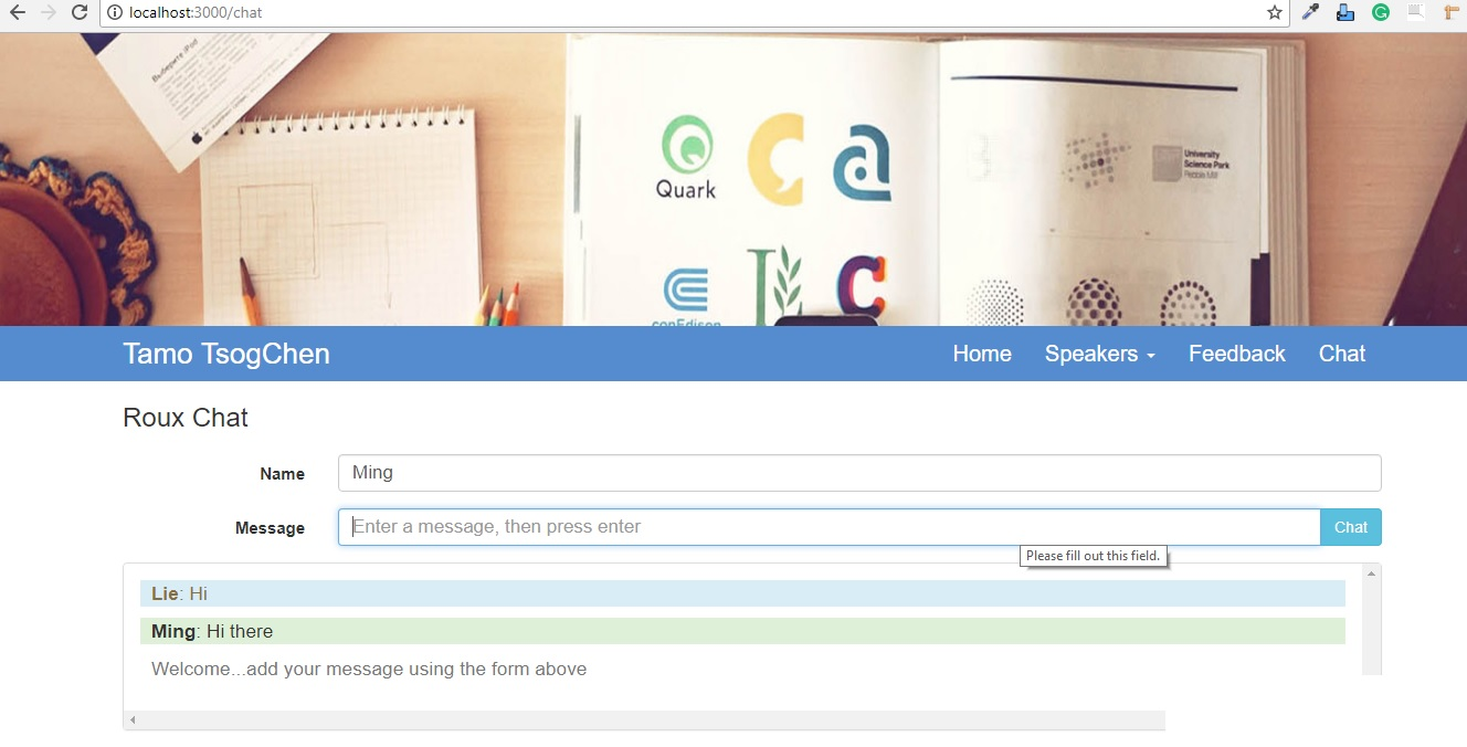 Creating a Simple Live Chat in Express - Edupala