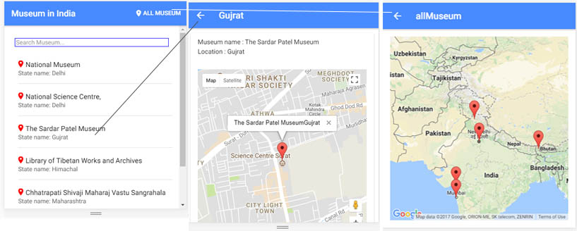 How to add Google Map and Multiple Marker using Ionic 4 - Edupala