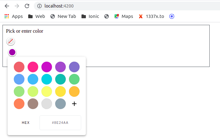 Angular color picker example 2